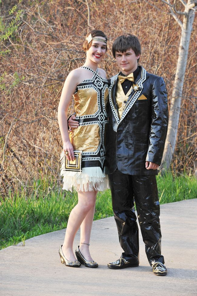 Duct Tape Prom Outfits Steal The Show (8 pics)