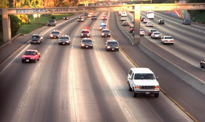 20 Years Since The O.J. Simpson Bronco Chase (5 pics + video)