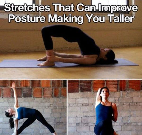 Easy Stretches You Can Do To Improve Your Body (5 pics)