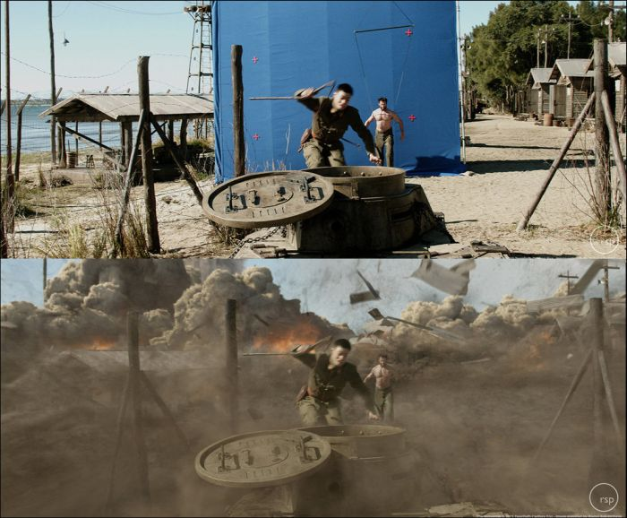 Behind The Scenes Of Hollywood Special Effects (37 pics)
