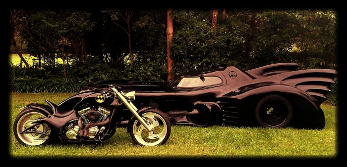 This Man Has A Completely Street-Legal Batmobile (9 pics)