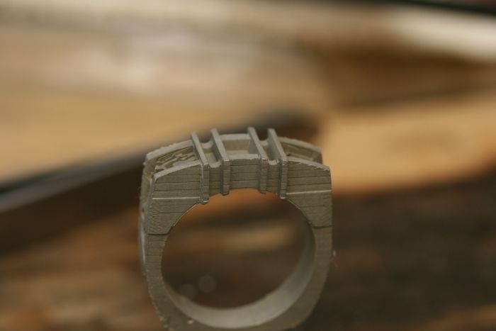 This Homemade Wedding Ring Is Ballin' (28 pics)