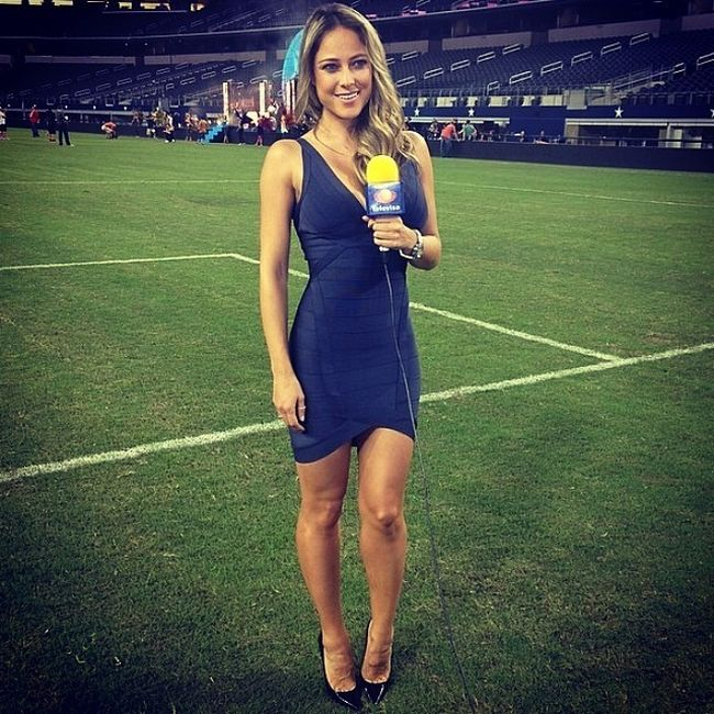 The Best Looking Reporters At The World Cup (20 pics)