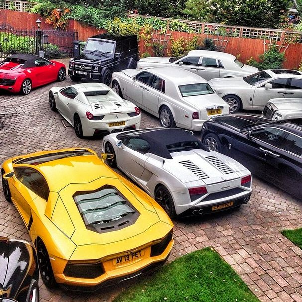 Cool Toys Cars : Rich kid of instagram has cool car collection pics