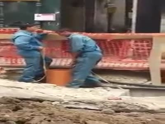 Romanian Way Of Inspecting Sewer Pipes