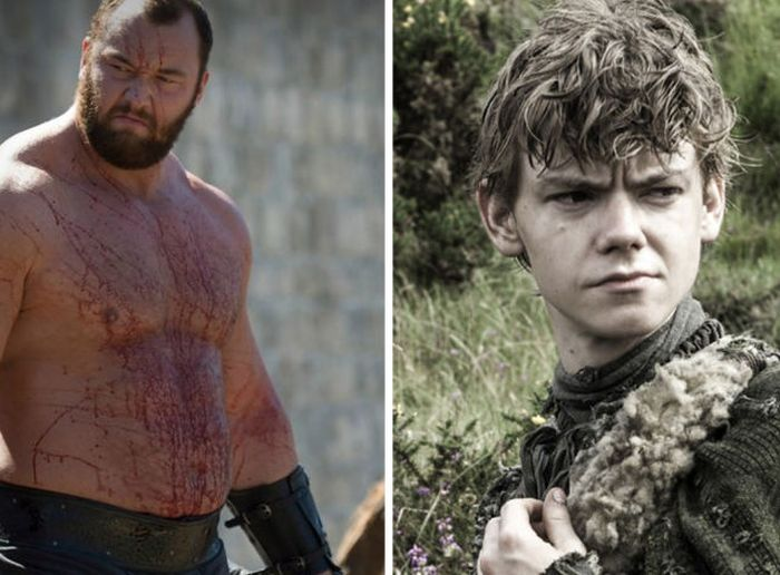 Age Difference Between Two Game Of Thrones Stars (5 pics)
