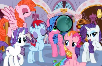 Little Pony Hidden Letter
