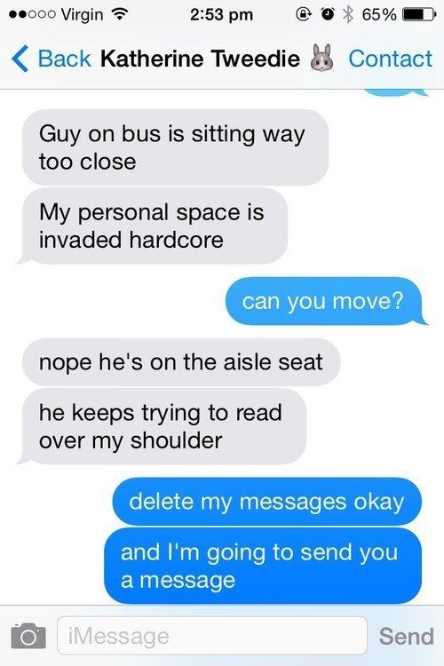 What To Do When Someone Watches You Text (9 pics)