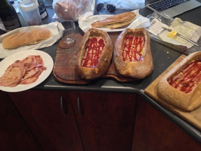 The Most Epic Calzone Of All Time (24 pics)