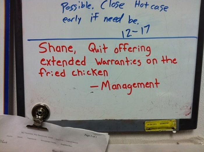 Shane Teaches You How To Do Work Right (12 pics)