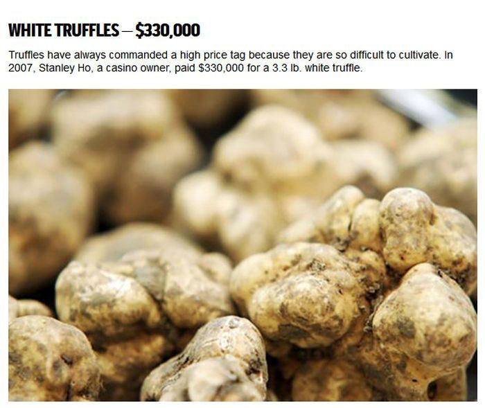 Why Are These Foods So Expensive? (7 pics)
