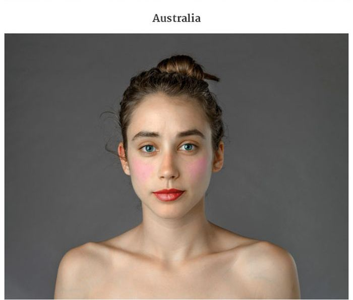 What Beauty Looks Like In Different Countries (21 pics)