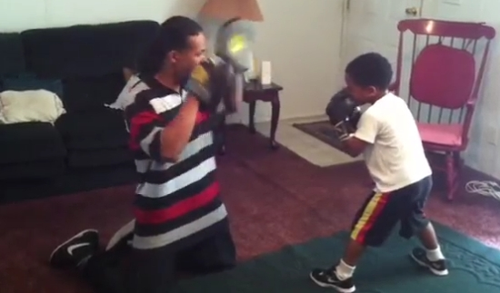 5-Year-Old Kid Is Going To Be A Boxing Star