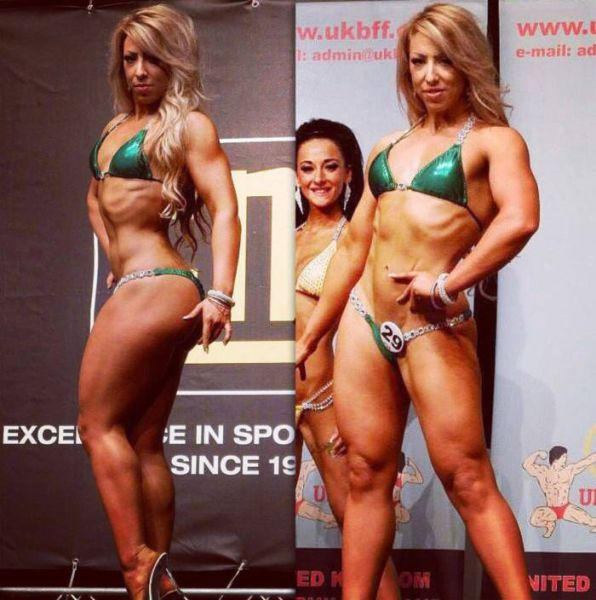 From Chubby Girl To Gorgeous Fitness Model (14 pics)