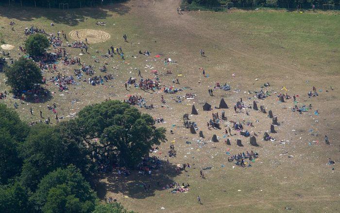The Aftermath Of Glastonbury (45 pics)