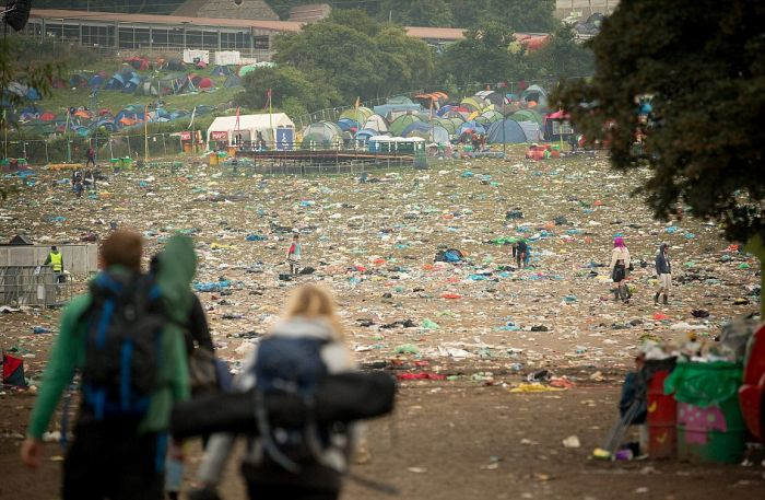 The Aftermath Of Glastonbury (45 pics)