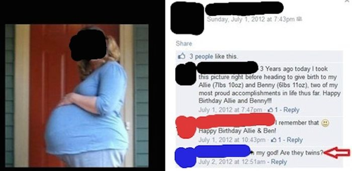 The Dumbest People Comment On Facebook (34 pics)