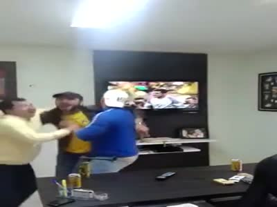 Soccer Fans Fail While Watching The Match