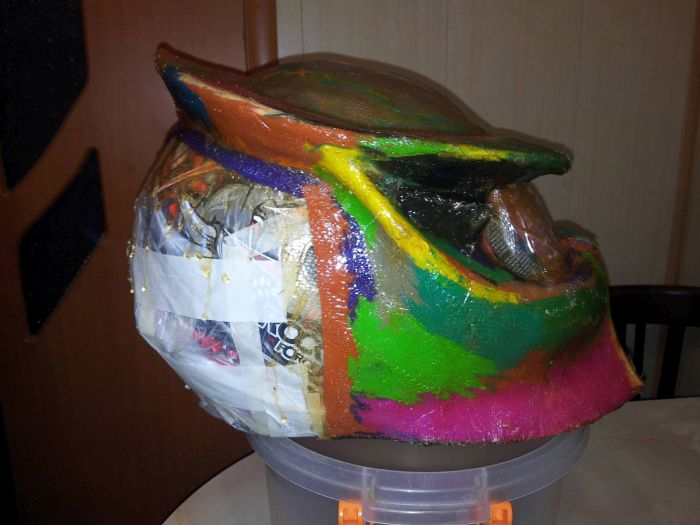This Homemade Predator Helmet Is Just Awesome (49 pics)