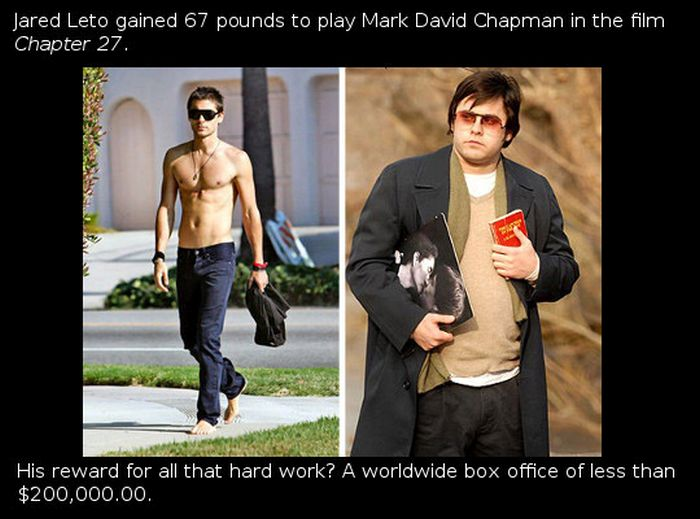 These Actors Went Way Too Far For These Roles (23 pics)