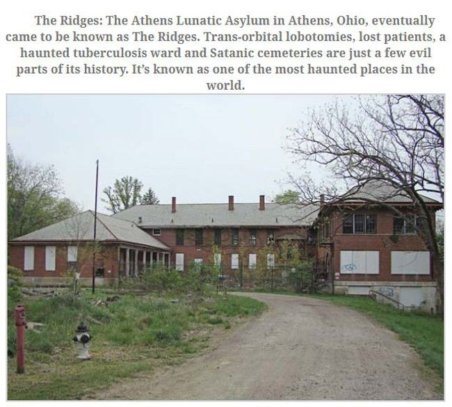 Stay Away From These Haunted Places (11 pics)