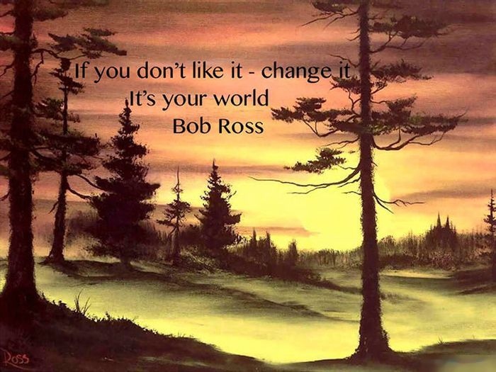 Bob Ross Was A Boss (21 pics)