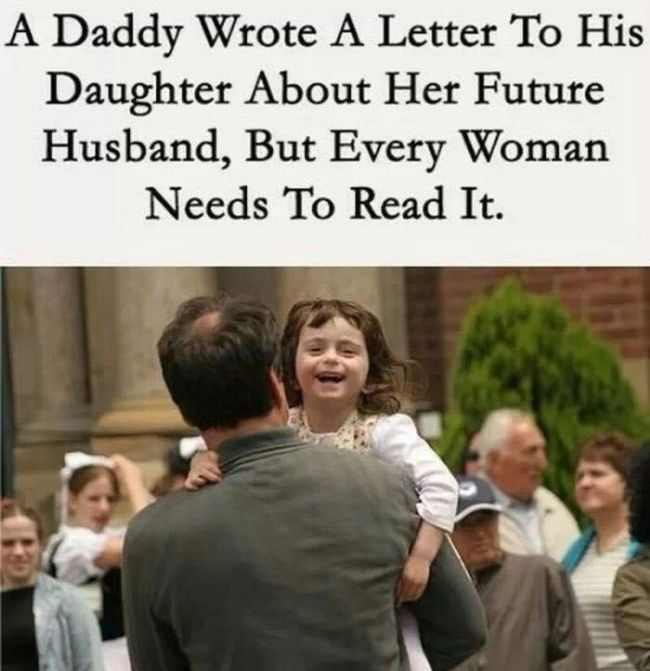 This Dad Wants His Daughter To Find The Right Man