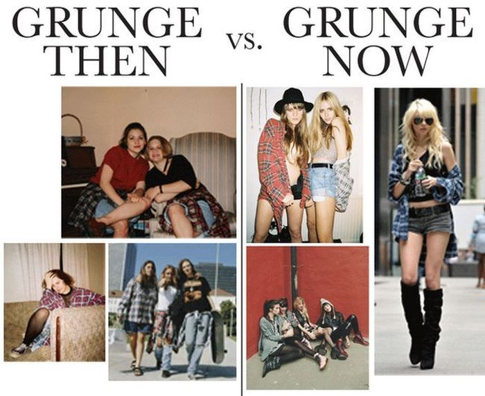 Fashion Back In The Day And Today (5 pics)