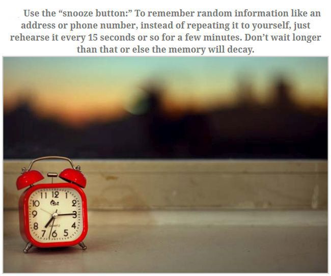 How To Improve Your Memory In No Time (10 pics)