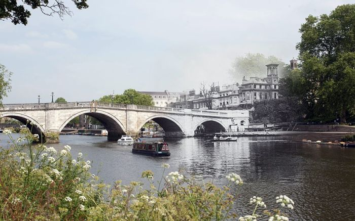 London's Bridges Past And Future Mashup (14 pics)