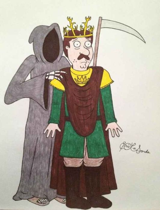 If Game Of Thrones And Family Guy Did A Crossover (12 pics)