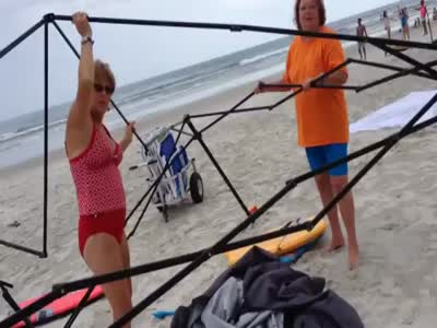 Stealing From The Beach Caught On Tape