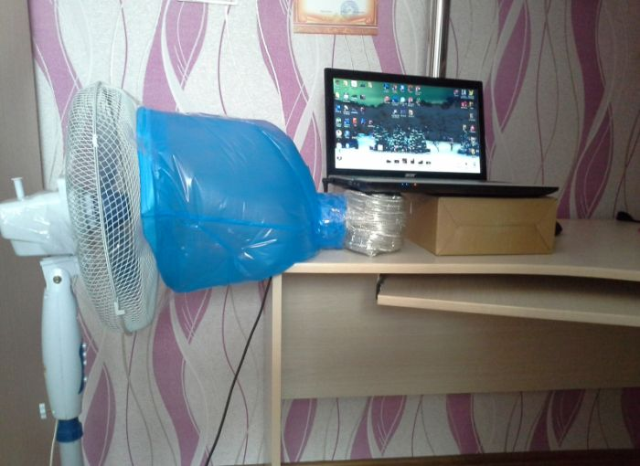 How To Make A DIY Cooling Pad (2 pics)