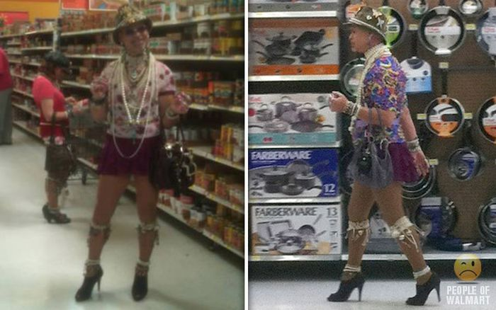 People of Walmart. Part 26 (50 pics)