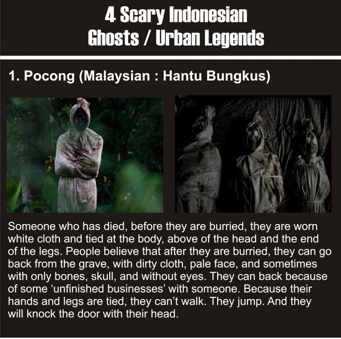Indonesian Ghosts Are Creepy (4 pics)