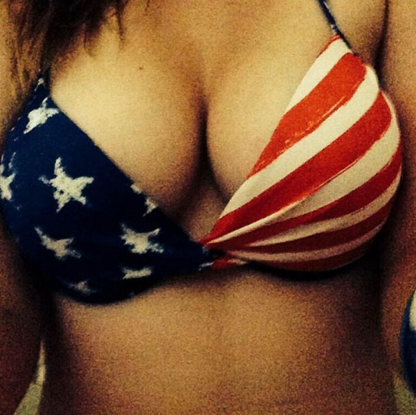 Red White And Bikini Tops (66 pics)