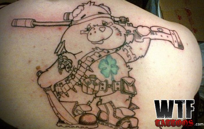 The Best Of Terrible Tattoos (40 pics)