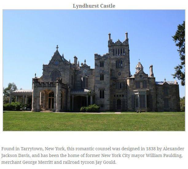Medieval Castles In America (13 pics)