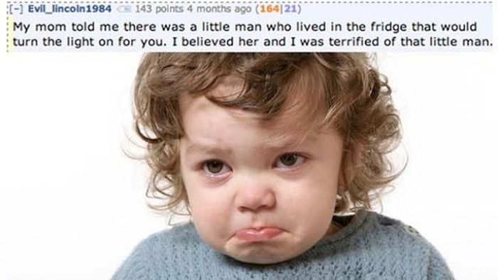 Hilarious Lies That Parents Tell Their Kids (15 pics)