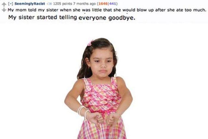 Hilarious Lies That Parents Tell Their Kids (15 pics)