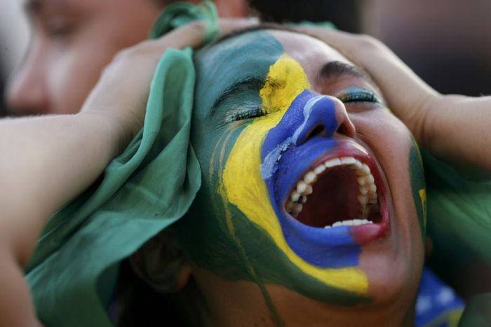 Brazil Fans Aren't Happy About That World Cup Loss (40 pics)