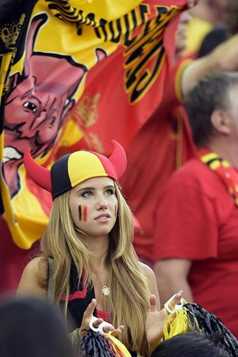 From World Cup Fan To Professional Model (20 pics)