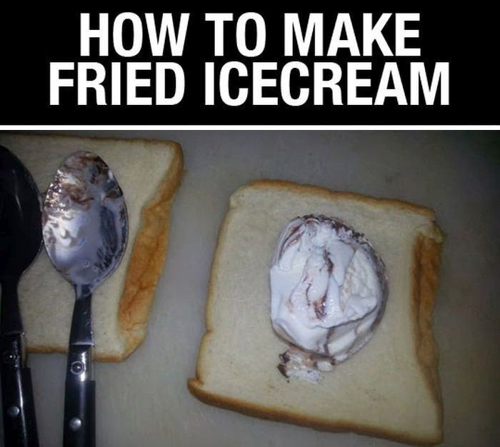 This Is How You Make Fried Ice Cream (6 pics)