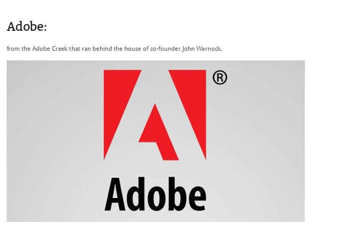 How Did These Famous Companies Get Their Names? (30 pics)
