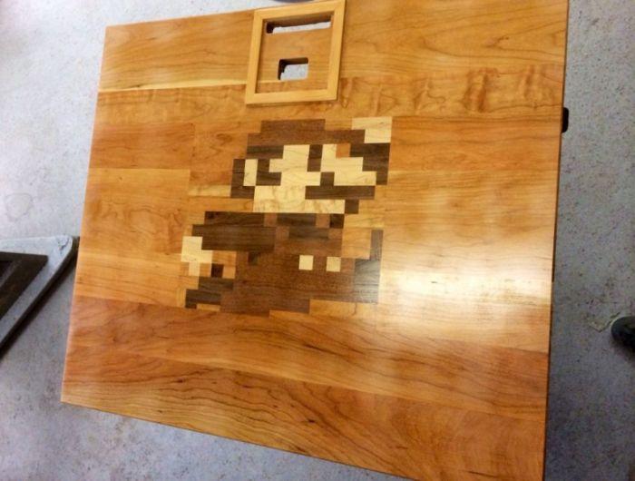 Make Your Own Nintendo Table (18 pics)
