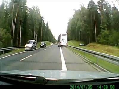Scary Bus Driving Close Call