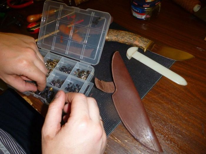 How To Build Your Own Knife (48 pics)
