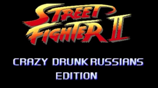 Russian Brawl Street Fighter Style