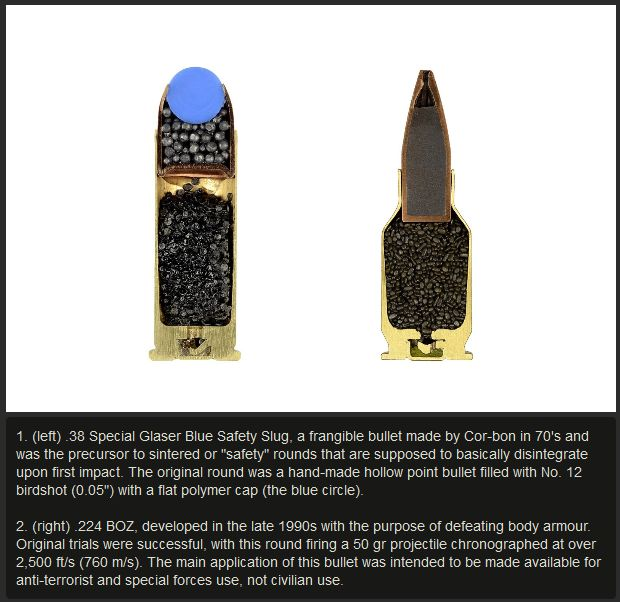 See What The Inside Of A Bullet Looks Like (6 pics)
