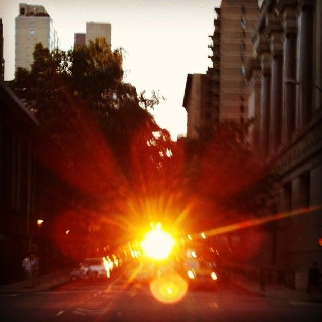 Beautiful Shots Of The Sun From Manhattan (19 pics)
